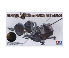 German 20mm FLAK38 MIT Sd.Ah.51