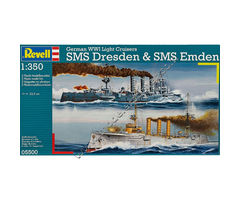 German WWI Light Cruisers SMS Dresden & SMS Emden