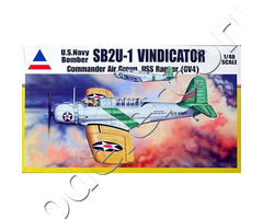 U.S. Navy Bomber SB2U-1 Vindicator Commander Air Group USS Ranger (CV4)
