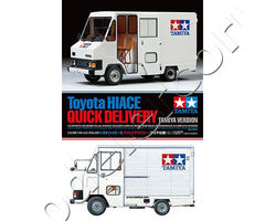Toyota Hiace Quick Delivery Tamiya Version