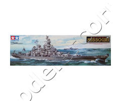 U.S. Battleship BB-63 Missouri