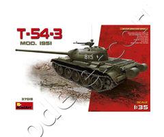 T-54-3 SOVIET MEDIUM TANK. Mod. 1951