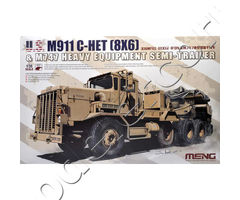 U.S. M911 C-HET (8x6) and M747 Heavy Equipment Semi-Trailer