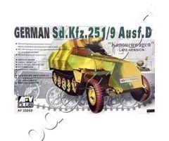 Sd.Kfz.251/9 ausf D (late-mode) Kanonenwagen