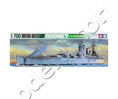 British Battleship HMS Rodney