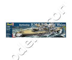 Battleship H.M.S. Prince of Wales