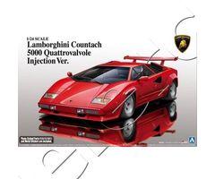 Lamborghini Countach 5000 Quattrovalvole Injection Ver.