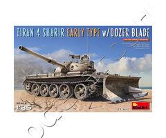 TIRAN 4 SHARIR EARLY TYPE w/DOZER BLADE