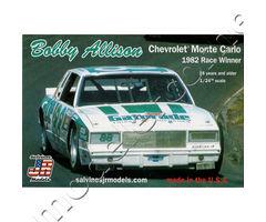 Bobby Allison Chevrolet Monte Carlo 1982 Race Winner