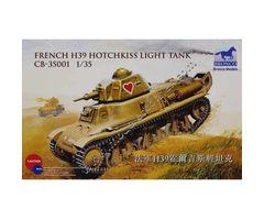 French H39 Hotchkiss Light Tank