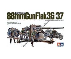 German 88mm Gun FlaK 36/37