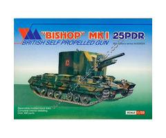 'Bishop' Mk.I 25 Pdr. British Self-Propelled Gun