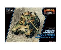 World War Toons PzKpfw V Panther German Medium Tank